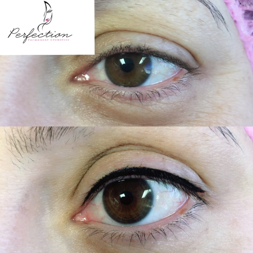Before and After Permanent Eyeliner
