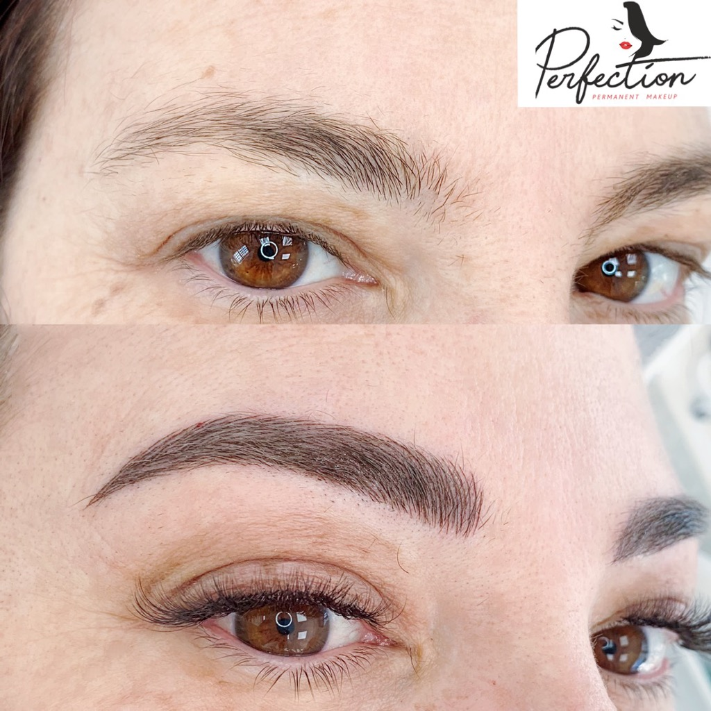Eyelash Extensions completed by Perfection Permanent Makeup