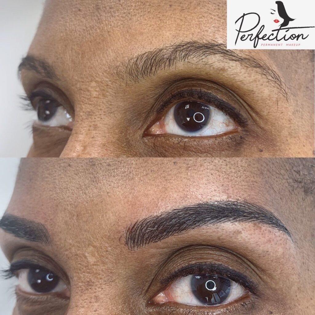 Permanent Makeup Eyeliner Client 2