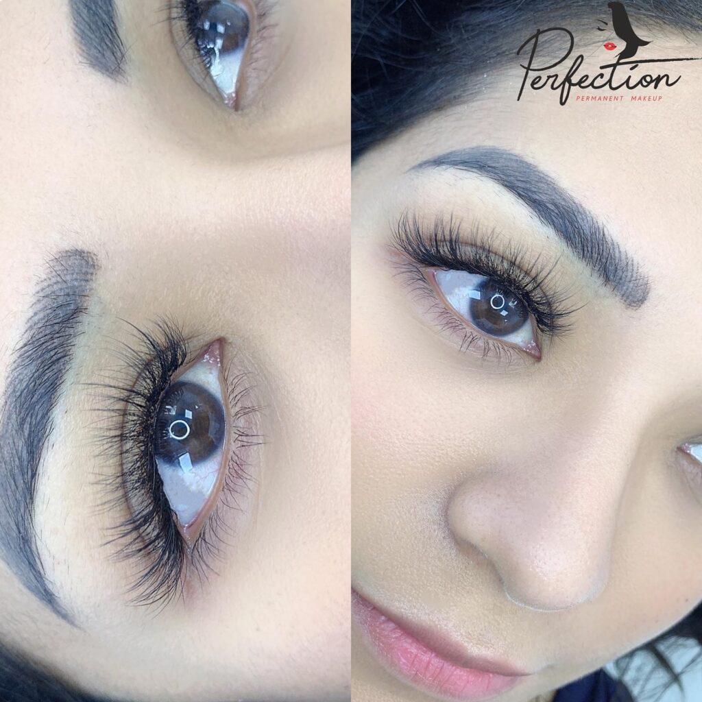 Eyelash Extension Example