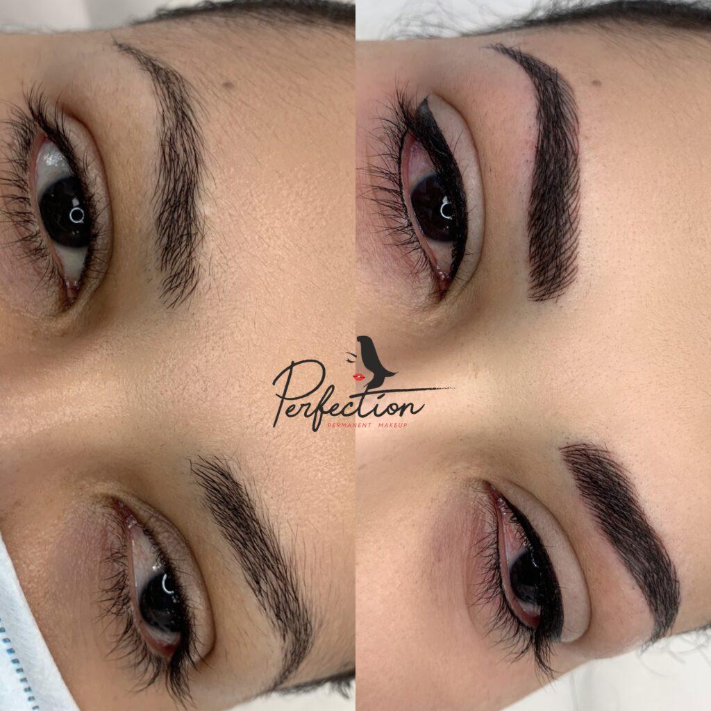 Permanent Eyeliner Client